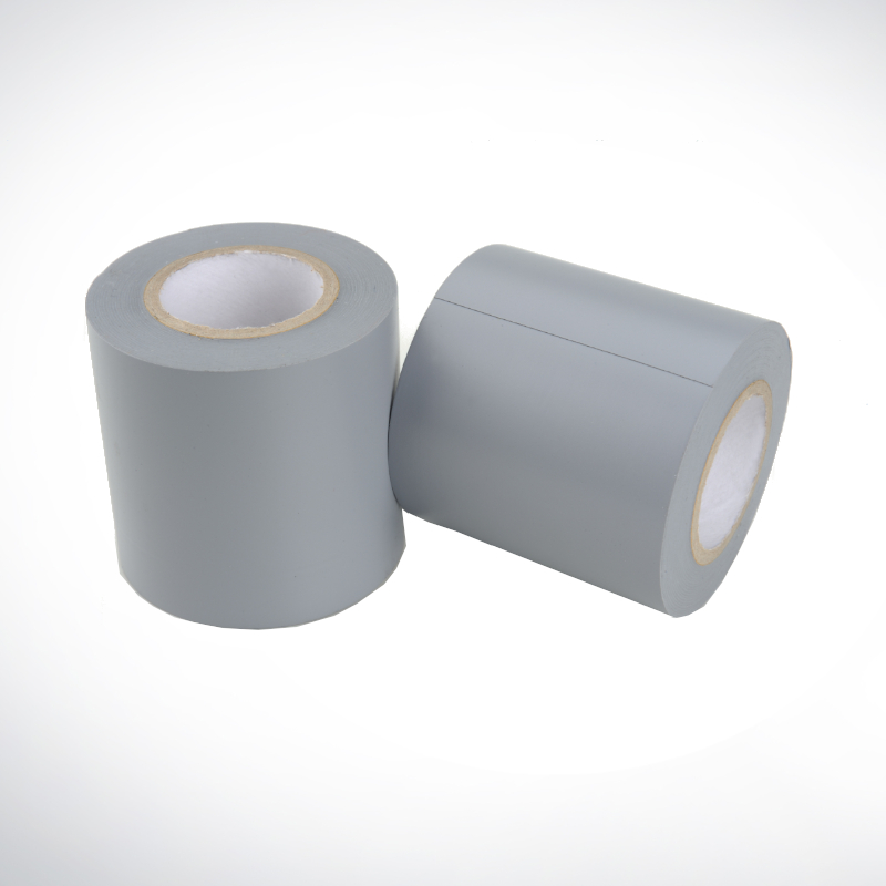 Tape PVC grau 25 mm x 25 m